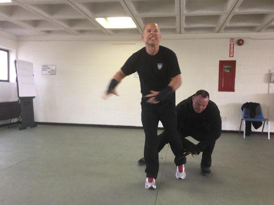 OPN restraint techniques in action.