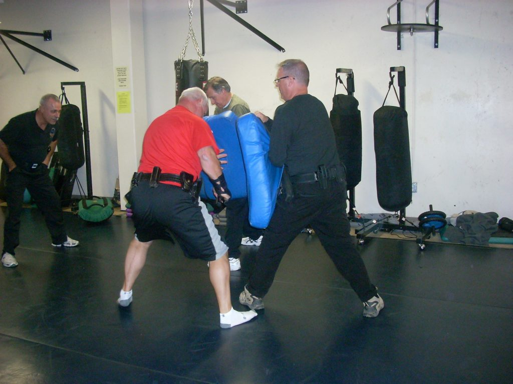 Men in OPN training.
