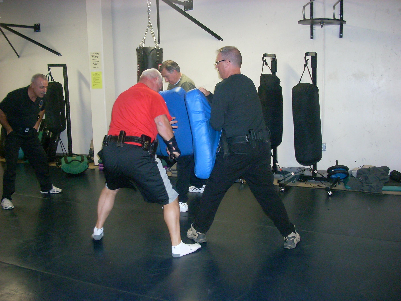 Men in OPN training.