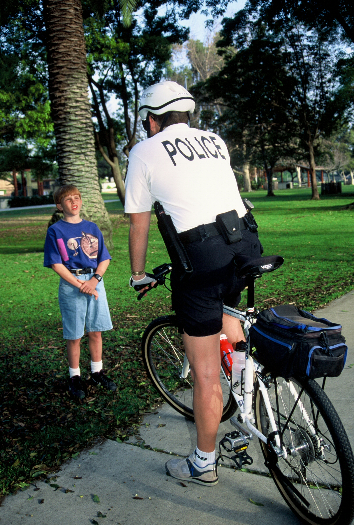 Bicycle Officer.