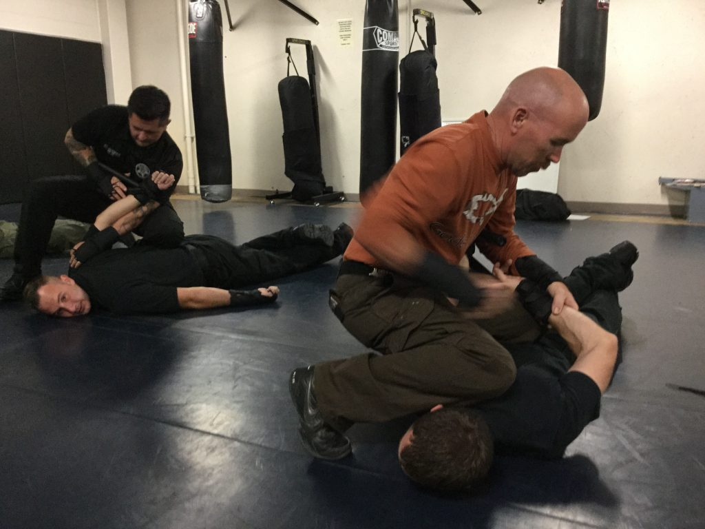 Man training with the OPN.