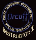 Embroidered Orcutt Instructor Logo