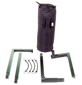Impact Bag & Rolling Stand (disassembled)